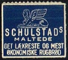SCHULSTADS MALTEDE DET LÆKRESTE OG MEST ØKONOMISKE RUGBRØD 1 øre.  (Michel: ) - JF163921 - Danemark