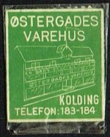 ØSTERGADES VAREHUS KOLDING 1 øre.  (Michel: ) - JF163916 - Danemark