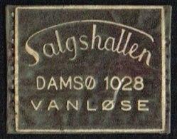 Salgshallen DAMSØ 1028 VANLØSE 1 øre.  (Michel: ) - JF163966 - Danemark