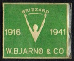 BRIZZARD 1916 1941 W. BJARNØ & CO. 1 øre.  (Michel: ) - JF163968 - Non Classés