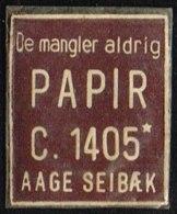 De Mangler Aldrig PAPIR C. 1405 1 øre.  (Michel: ) - JF163957 - Danemark