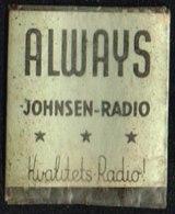 ALWAYS JOHNSEN-RADIO Kvalitets-Radio 1 øre.  (Michel: ) - JF163958 - Non Classés