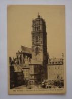 12 - RODEZ - Clocher De La Cathédrale Et Place De La Cité - Rodez