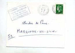 Lettre Cachet Fresnes Sur Escaut - Storia Postale