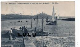 DEPT 22 : Paimpol , Départ De Bateaux De Péche A La Sortie Du Bassin - Paimpol