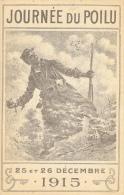 Journée Du Poilu - 25 Et 26 Décembre 1915 - Illustration Neumont (?) - Carte Non Circulée - Patriottisch