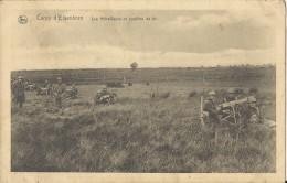 Camp D'Elsenborn    Les Mitrailleurs En Position De Tir - Elsenborn (camp)