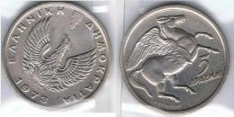 GRECIA 5 DRACMA 1973 - Grecia