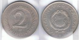 HUNGRIA MAGYAR 2 FORINT FLORIN 1960 - Hungría