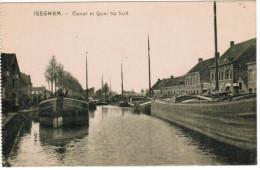 Iseghem, Canal Et Quai Du Sud, Péniches, Binnenvaartschepen (pk20030) - Izegem