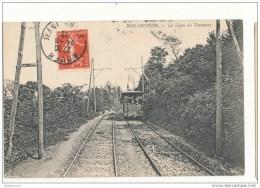 76 BON SECOURS LA LIGNE DE TRAMWAY CPA BON ETAT - Tramways