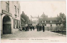 Comines, Pont De La Lys, Vue De Comines (pk20031) - Komen-Waasten