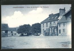 CPA Sennevieres, Cour De La Ferme Du Temple - Ohne Zuordnung
