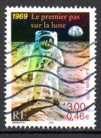 FRANCE. N°3355 Oblitéré De 2000. L´Homme Sur La Lune. - Space