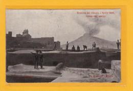 TORRE DEL GRECO - ITALIE - CAMPAGNIA - TORRE DEL GRECO - ERIZIONE DEL VESUVIO APRILE 1906 - ANIMATION - Torre Del Greco