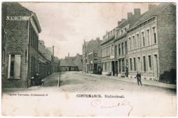Kortemark, Cortemarck, Statiestraat (pk20036) - Kortemark