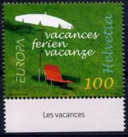 EUROPA CEPT 2004 SUISSE N° YVERT 1799 - V ACANCES -  MNH NEUF Luxe ** - Europa-CEPT