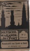 Dietsche Warande En Belfort 1921 (21e Jaargang), Nummers 1-12 - History