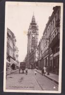Antique Card, Douai La Rue De La Mairie, France, Posted With Stamp, Y15. - Douai