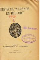 Dietsche Warande En Belfort 1920 (20e Jaargang), 2 Gebonden Delen - History