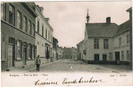 Dottignies, St Leger, Hôtel De Ville, Place (pk20042) - Mouscron - Moeskroen