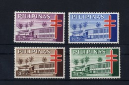 Filippine Philippines Philippinen Pilipinas 1964 Negros Oriental Anti-Tubercolosis TB Semi-Postal 4 Values MNH See Photo - Philippines