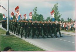Photography - Military parade - National Day - 5 years of Croatian freedom, Jarun, 1995., Croatia