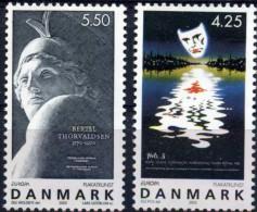 EUROPA CEPT 2003 DANEMARK N° YVERT 1344/45 -  L´ART DE L´AFFICHE  -  MNH NEUF Luxe ** - Europa-CEPT