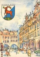 JELENIA GORA RYNEK Z ARKADAMI POLOGNE POLAND EDITION ARKADY - Polonia