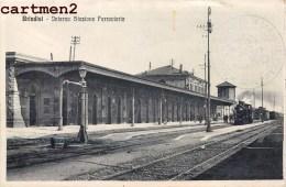 BRINDISI INTERNO STAZIONE FERROVIARIA ITALIA - Brindisi