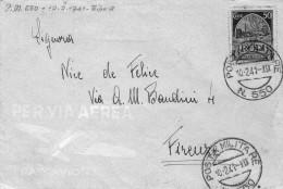 ITALIA  Storia  Postale   Posta Militare  550   Rodi   Cent. 50    Del  10 - 2 - 1941 - 9. Occupazione 2a Guerra (Italia)