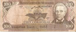 BILLETE DE NICARAGUA DE 100 CORDOBAS DEL AÑO 1979 (BANKNOTE) - Nicaragua