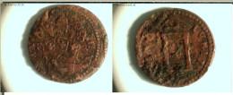 Gubbio - Innocenzo X (1644 - 1655): Quattrino 1650 (Porta Santa Chiusa) - Monnaies Régionales
