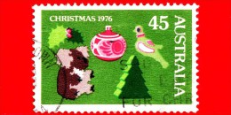 AUSTRALIA - Usato - 1976 - Natale - Christmas - 45 - 1966-79 Elizabeth II
