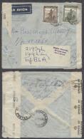 BELGIAN CONGO. Cartas. 1944 (Oct Nov). Belgian Congo Air forces military personal in London. Elisabethville - UK (28 ...