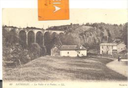 SATHONAY - La Vallée Et Le Viaduc , Bon état ( Voir Scan ) - Autres Communes