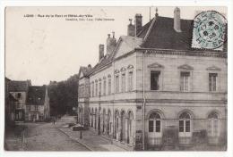 70  LURE   Rue De La Font Et Hôtel De Ville - Lure