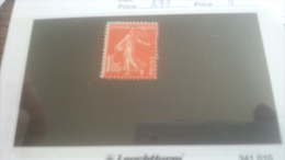 LOT 259116 TIMBRE DE FRANCE NEUF* N�195  DEPART A 1€