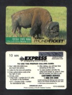 UNITED STATES  - ( EXPRESS  10 MIN.  ) LIMITED EDITION RARE MINT PHONECARD 1994 - Etats-Unis