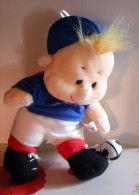 """Peluche Les Babycool Foot """"france"""" - Peluches"""
