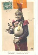 CPA Militaria , Votre Coeur ......sa Place , Bon état ( Voir Scan ) - Humorísticas