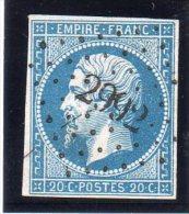 """FRANCE : PC 2992 . """" ST AUBAIN D'AUBIGNE """" . (34) . N° 14 . TB  . - Marcophilie (Timbres Détachés)"""