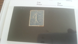 LOT 259145 TIMBRE DE FRANCE NEUF* N�132  DEPART A 1€