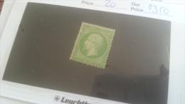 LOT 259157 TIMBRE DE FRANCE NEUF* N�20 VALEUR 350 EUROS  DEPART A 1€