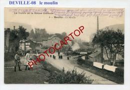 DEVILLE-Le Moulin-Periode Guerre 14-18-1 WK.-France-08- - France