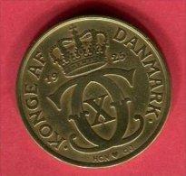2COURONNE 1925 ( KM 35.1 )   TB+  6 - Dänemark