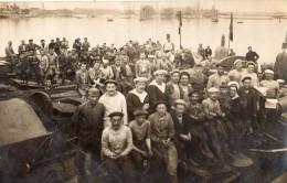 DUNKERQUE CARTE PHOTO  GROUPE DE MARINS - Dunkerque