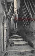 ALGERIE -  ALGER - La Rue Benali - Dos Vierge  - 2 Scans - Alger