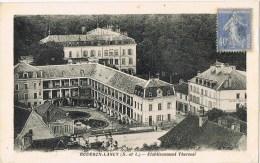 12942. Postal BOURBON LANCY (seine Et Loire) 1929. Etablissement Thermal - Frankreich