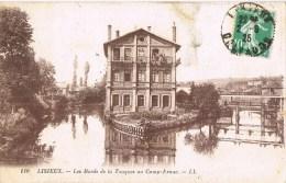 12945. Postal LISIEUX (Calvados) 1925. Les Bords De La Touques Au Camp Franc - France